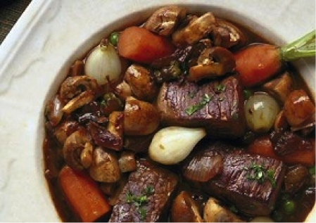 Beef Burgundy | Dietary Management Software | Recipe