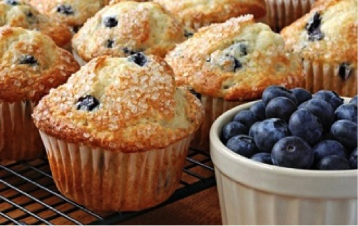 Longterm Care Foodservice Tips | Blueberry Muffin